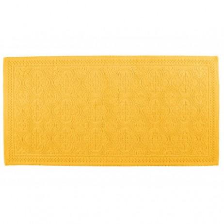 TAPIS DE BAIN KYMI SAFRAN 55X110 - Harmony Textile