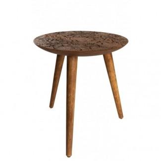 TABLE D'APPOINT BY HAND L - 40X45CM Dutch Bone
