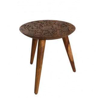 TABLE D'APPOINT BY HAND M - 35X37CM Dutch Bone