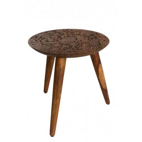 TABLE D'APPOINT BY HAND M - 35X37CM - Dutch Bone