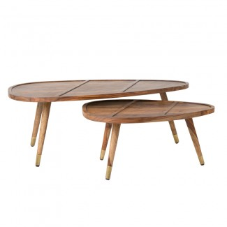 TABLE BASSE COFFEE SHAM SET DE 2