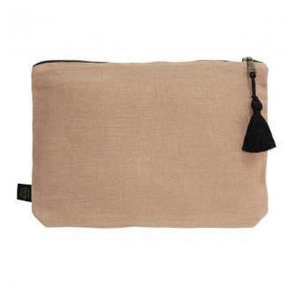 Pochette lin MANSA 29x22CM Harmony Textile