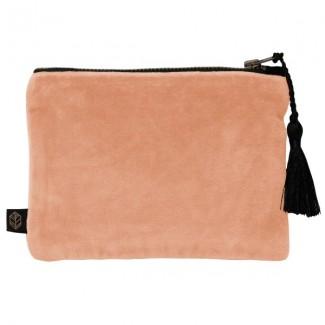 Pochette velours DELHI 15X11CM Harmony Textile