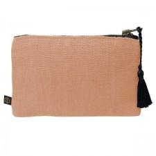 Pochette lin MANSA 15X11CM - Cimarron - Harmony Textile