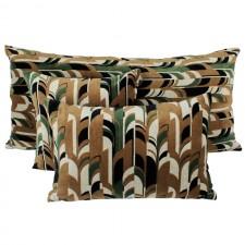 Coussin velours Kisali Bronze - Harmony Textile