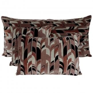 Coussin velours Kisali Cimarron Harmony Textile