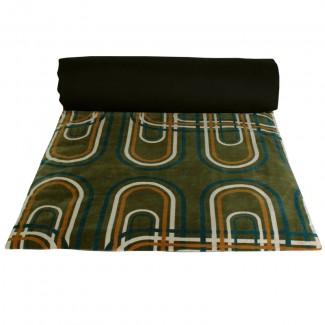 Edredon velours Karkal 85X200 Harmony Textile