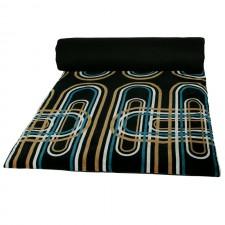 Edredon velours Karkal 85X200 - Harmony Textile