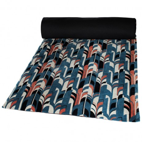 Edredon velours Kisali 85X200 - Harmony Textile