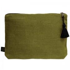 Pochette lin MANSA 29x22CM - Harmony Textile