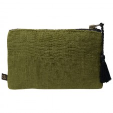 Pochette lin MANSA 15X11CM - Harmony Textile