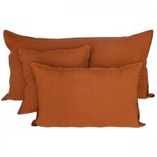Coussin lin lavé MANSA 40X60 - Harmony Textile