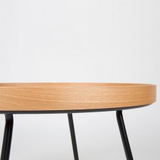 TABLE BASSE OAK TRAY D78 x H45 cm - Zuiver