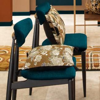 Coussin lin Kurti Café Harmony Textile