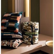 Coussin en velours Kisali Bronze - Harmony Textile