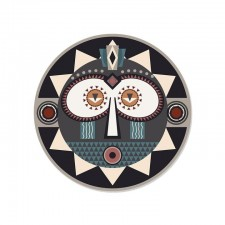 SET DE TABLE ROND KOROWAI - MASQUE YEUX - D38 PDV 00131 - Pôdevache