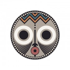 SET DE TABLE ROND ASARO0 - MASQUE AFRICAIN D38 PDV00139 - Pôdevache