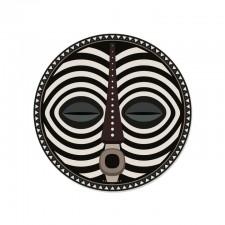 SET DE TABLE ROND DOUROU - MASQUE AFRICAIN D38 PDV 01796 - Pôdevache