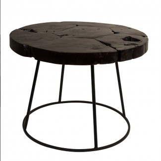 TABLE BASSE KRATON CHOCOLATE BLACK