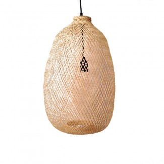 SUSPENSION BAMBOU GOUTTE NATUR