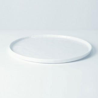 ASSIETTE PLATE DIA27 CM PORCEL