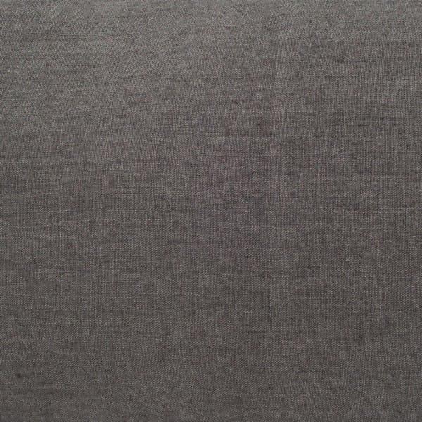 Coussin velours DELHI 45X45 en coloris Granit - Harmony Textile