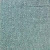 Coussin velours DELHI 45X45 en coloris Celadon - Harmony Textile