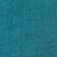 Edredon lin CORON 85X200 en coloris Bleu de prusse - Harmony Textile