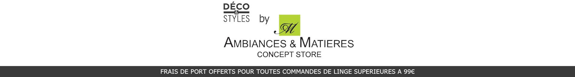 Ambiances et Matières